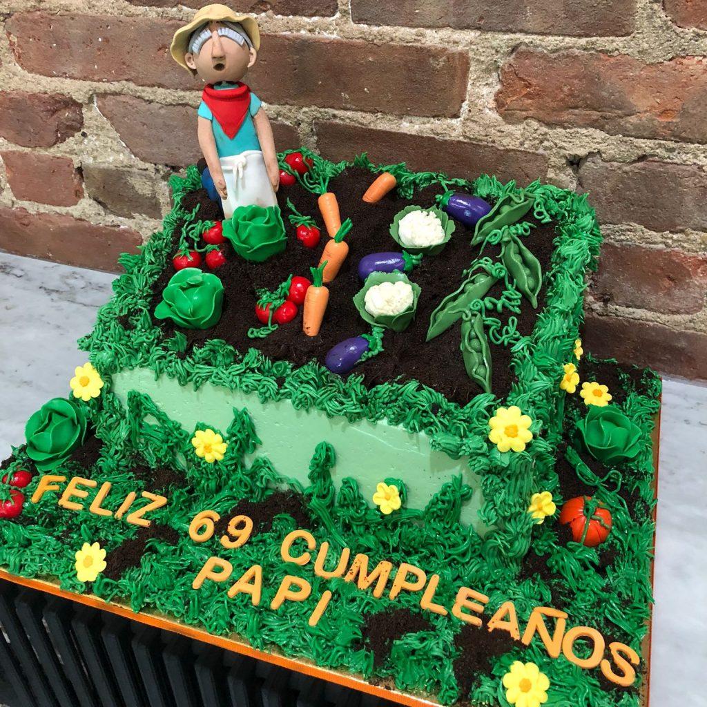 Huascar & Company Bakeshop Gardener Cake