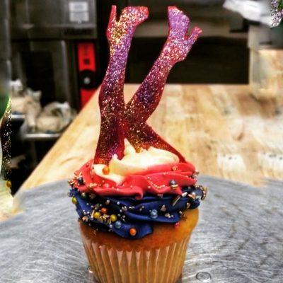 Huascar & Company Bakeshop Kinky Boots Custom Cupcake