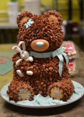 Huascar & Company Bakeshop Teddy Bear Sculpted Cake