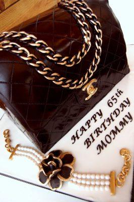 Huascar & Company Bakeshop Chanel Bag Cake