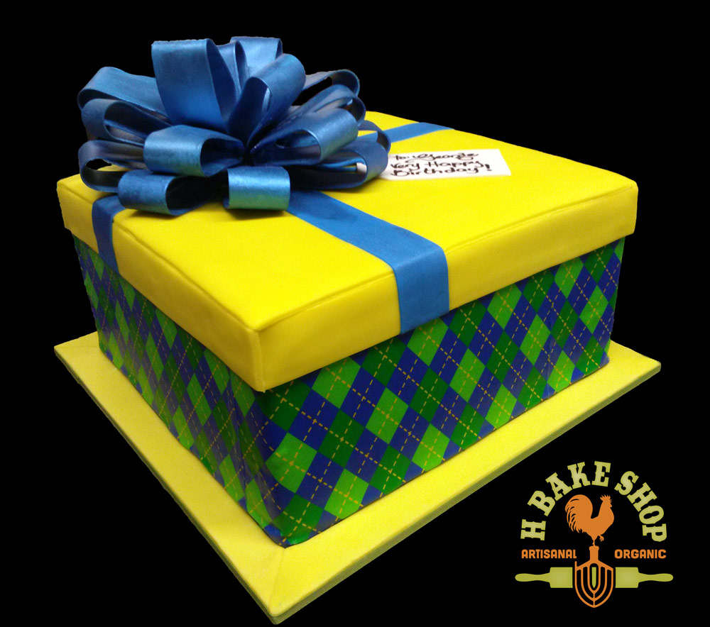 Huascar & Company Bakeshop Gift Box Cake