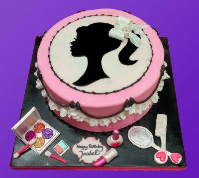 Huascar & Company Bakeshop Makeup Girl Cake