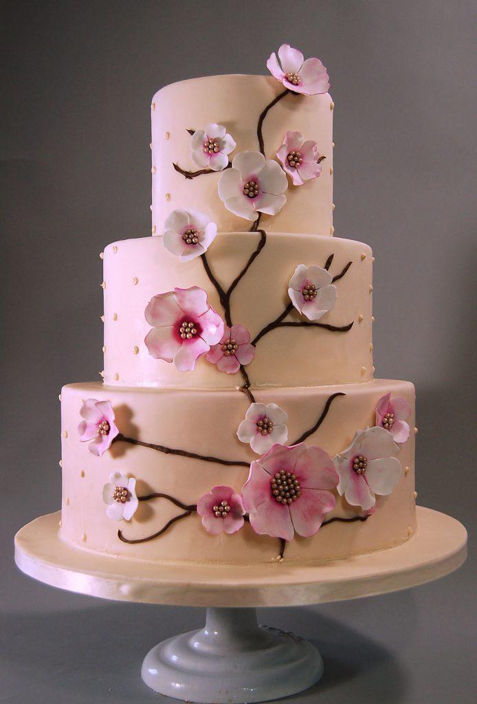 Huascar & Company Bakeshop Cherry Blossoms Cake